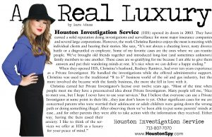 houston investigation services